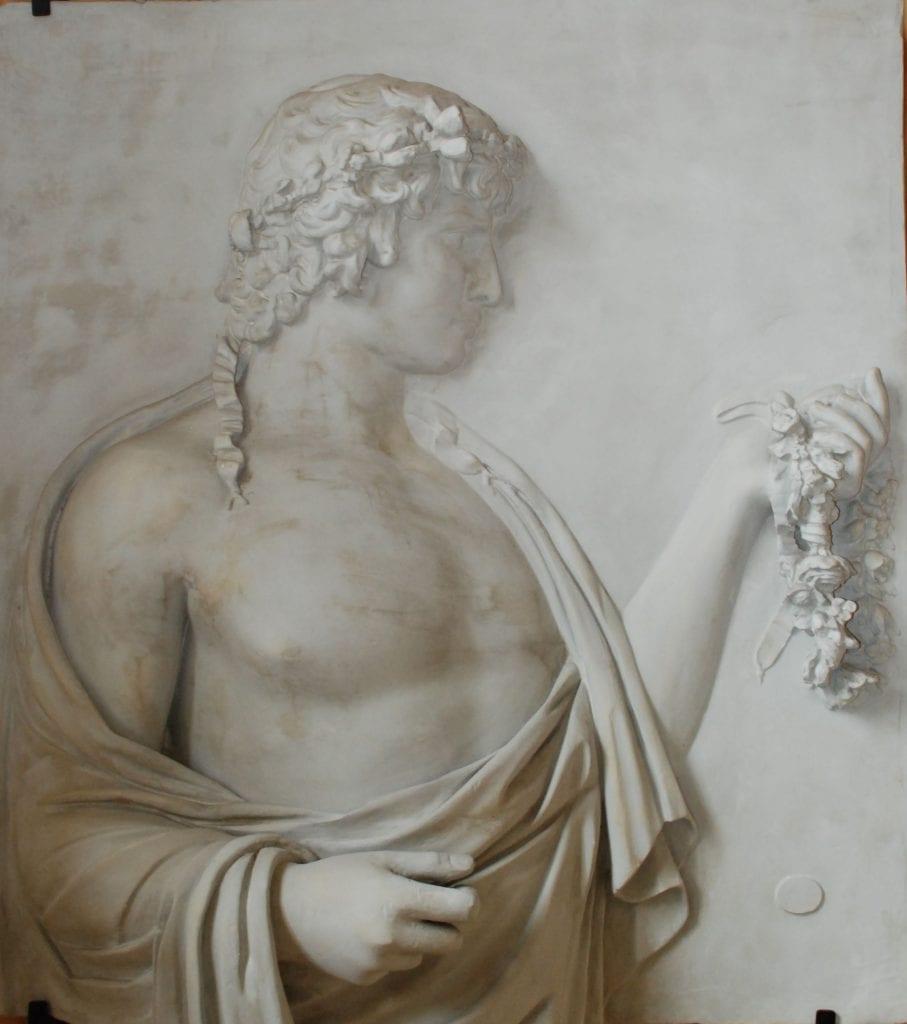 Antinoos jako Silvanus