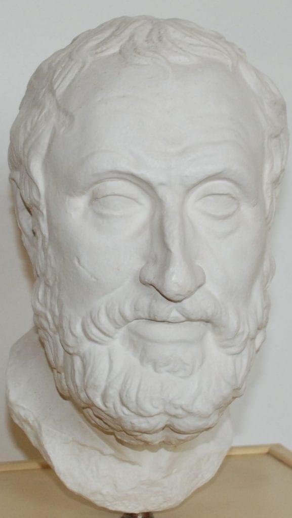 Portrét Karneada