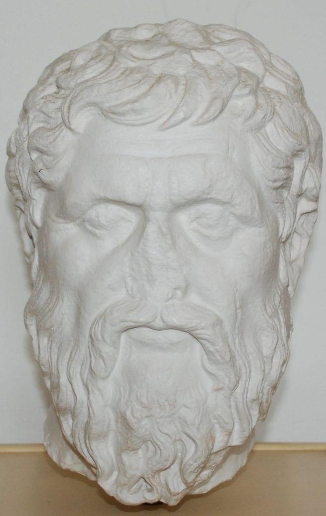 Portrét Platóna